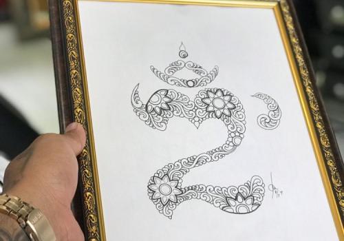 Balinese Om Symbol Tattoos Ongkara Tattoo