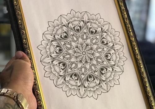 Mandala Tattoo Design Ubud Bali