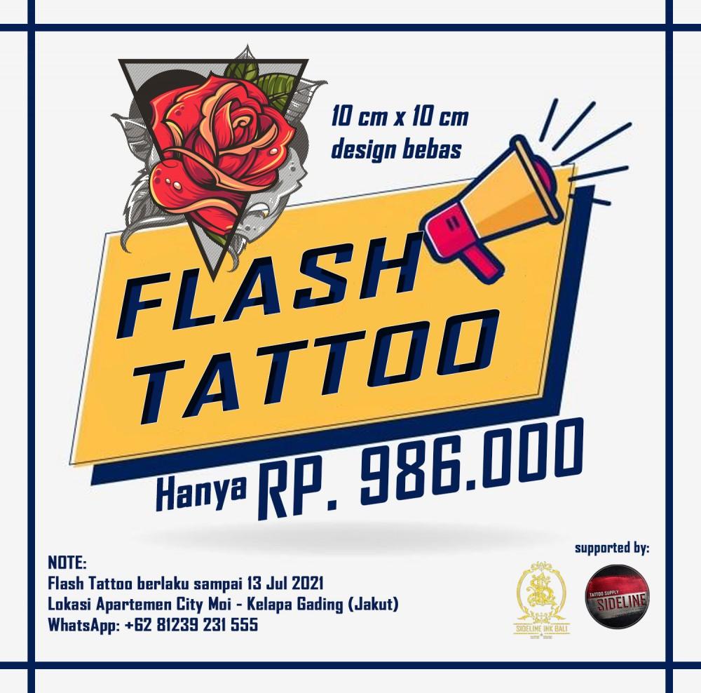 flash tattoo Jul 2021